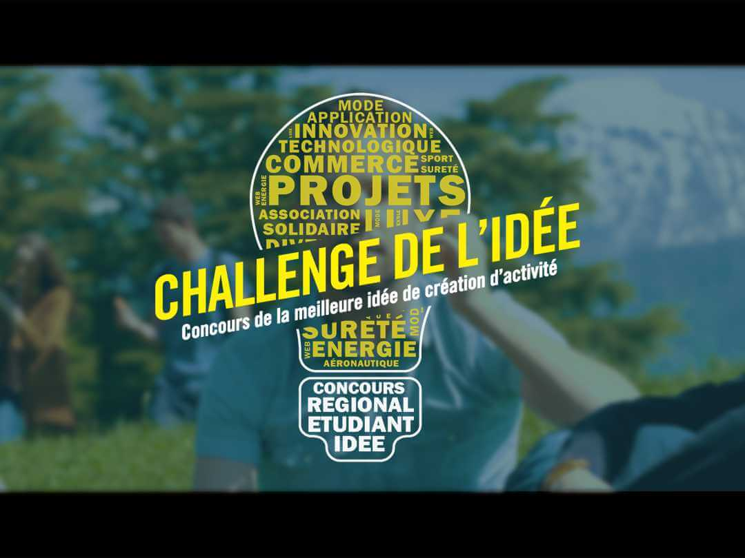 Challenge de l'idée 2017 - Production audiovisuelle